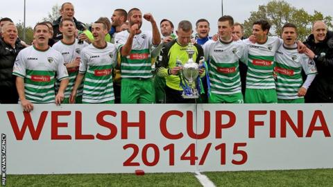 The New Saints added the Welsh Cup to their Welsh Premier League and League Cup titles