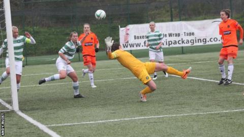 Glasgow City v Celtic in the SWPL