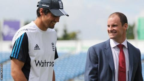 Andrew Strauss & Alastair Cook