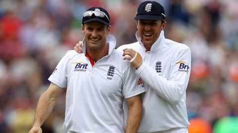 Andrew Strauss and Graeme Swann