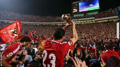 Al Ahly are the reigning Confederation Cup champions