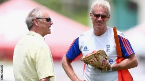 Colin Graves & Peter Moores