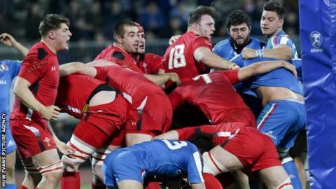 Wales U20 ended their Six Nations campaign with a narrow win in Italy and return there for the World Championship