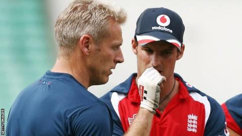 Peter Moores and Andrew Strauss