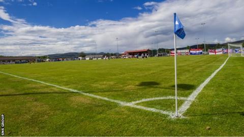 Dudgeon Park, home of Brora Rangers