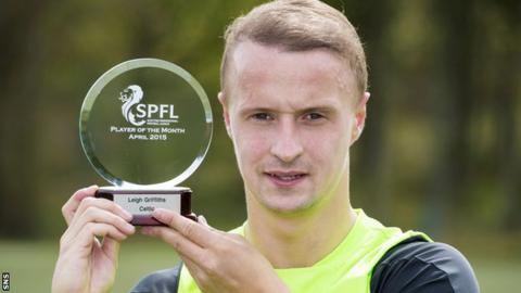 Leigh Griffiths scored two hat-trick in April for Celtic