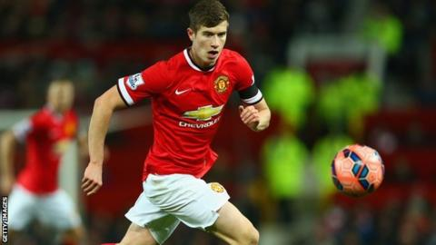 Paddy McNair played for Manchester United at the Milk Cup