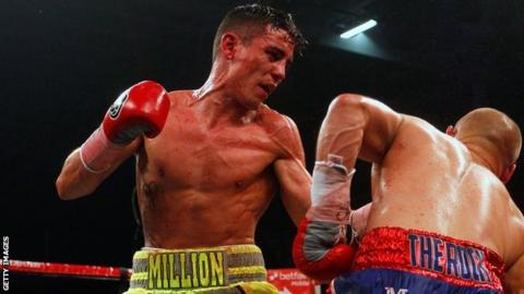 Anthony Crolla up against Gavin Rees