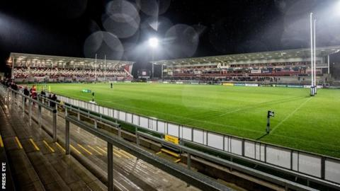 Kingspan Stadium will host the World Cup final in 2017
