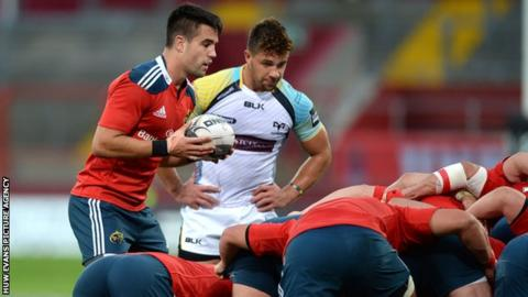Rhys Webb has already tasted success with Ospreys in Munster this season
