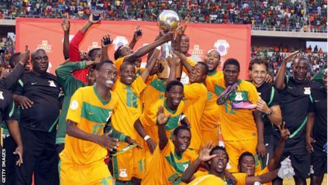 Zambia win the 2013 Cosafa Cup