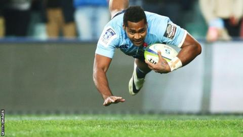 Fijian winger Taqele Naiyaravoro