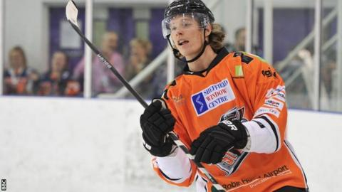 Mike Forney won the Elite league with Sheffield Steelers last season