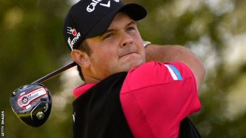 World number 15 Patrick Reed