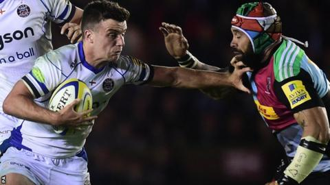 George Ford in action against Harlequins