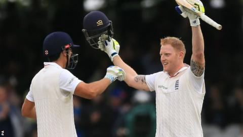 Alastair Cook and Ben Stokes