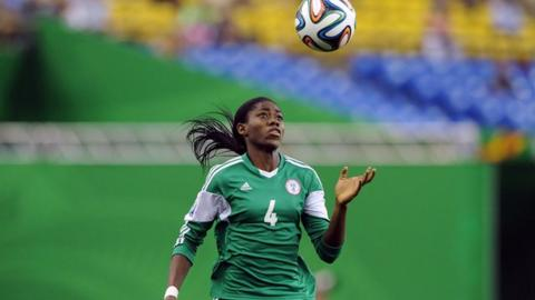 BBC Women's Footballer of the Year award: Asisat Oshoala wins