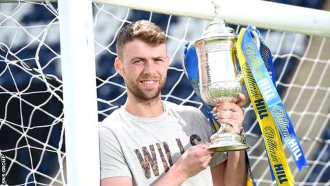 Rory Loy hopes to feature in the Scottish Cup final for Falkirk
