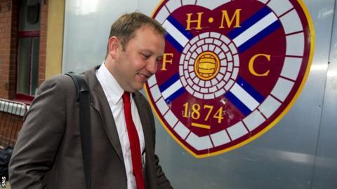 Ian Murray at Tynecastle