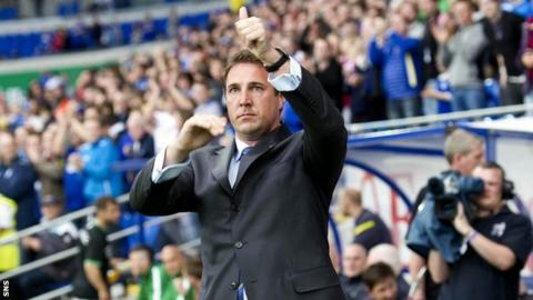Former Cardiff City manager Malky Mackay