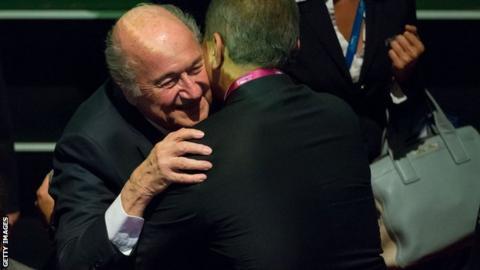 President Sepp Blatter opens the Fifa congress