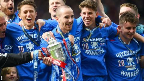 Inverness Caledonian Thistle claimed their first ever Scottish Cup