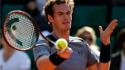 Andy Murray reaches third French Open semi-final
