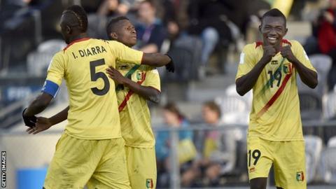 Mali's footballers at U-20 World Cup