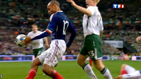 The Thierry Henry controversy from 2009