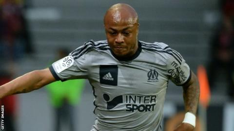 Andre Ayew, Marseilles