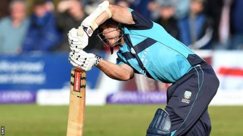 Scotland cricketer Kyle Coetzer