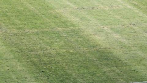 Swastika on pitch