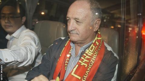 Luiz Felipe Scolari in China