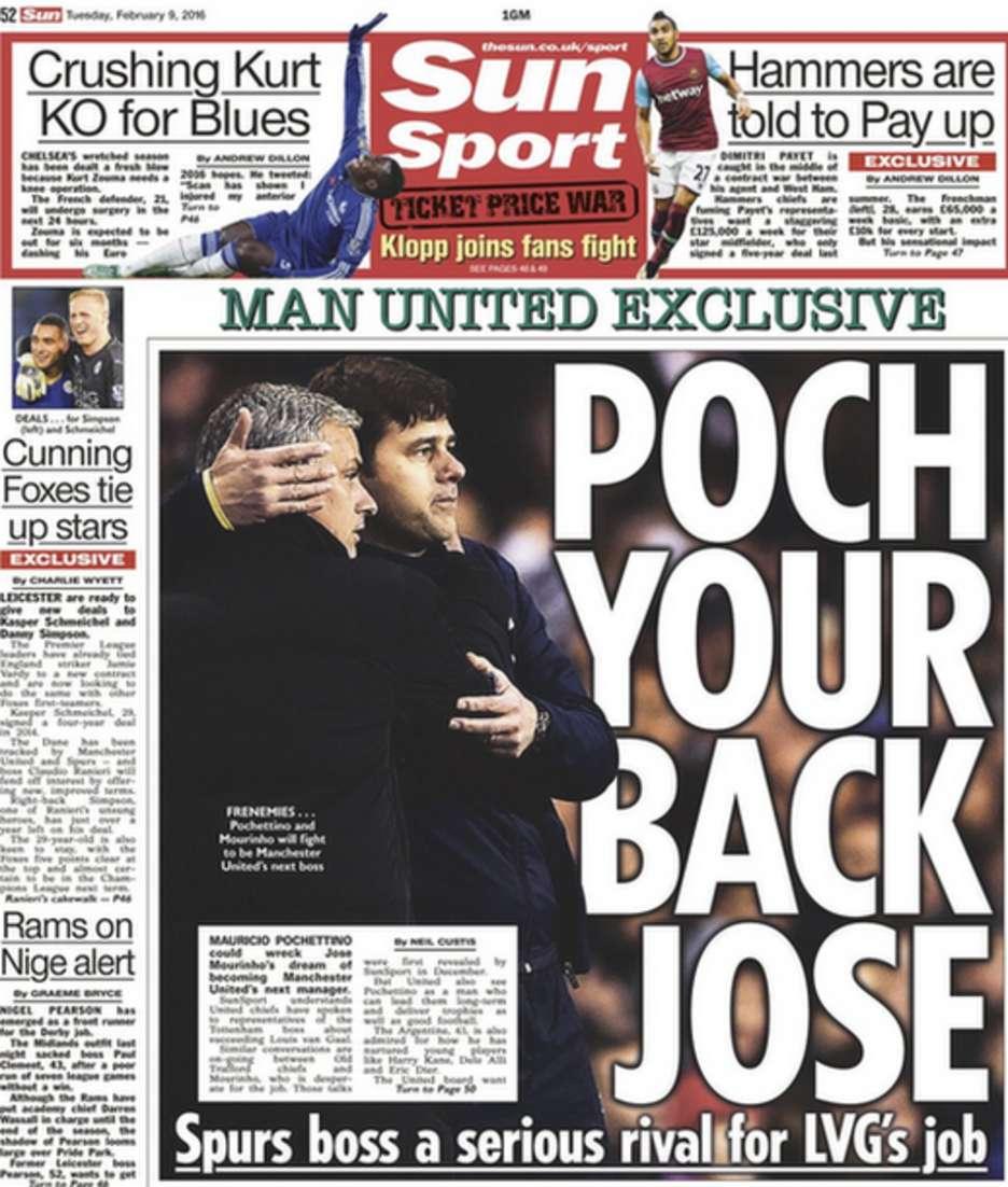 Today's newspaper gossip: Man United to poach Pochettino, Balotelli to return to Liverpool