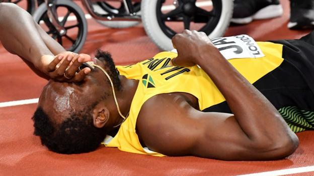 Usain Bolt: Delays blamed for injury at World Championships - Yohan Blake