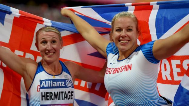 World Para-athletics Championships: Hannah Cockroft and Georgie Hermitage win