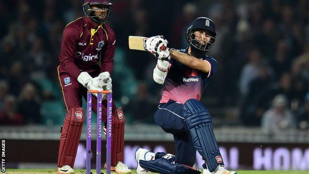Moeen seals ODI series win for England - report & highlights