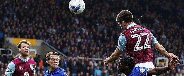 Gary Gardner's goal in Sunday's second city derby at St Andrew's was his first for boyhood heroes Villa