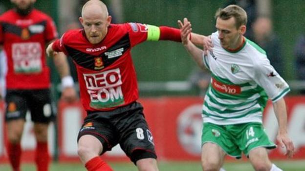 Newtown AFC 2-1 Valletta FC (Thur) - BBC Sport