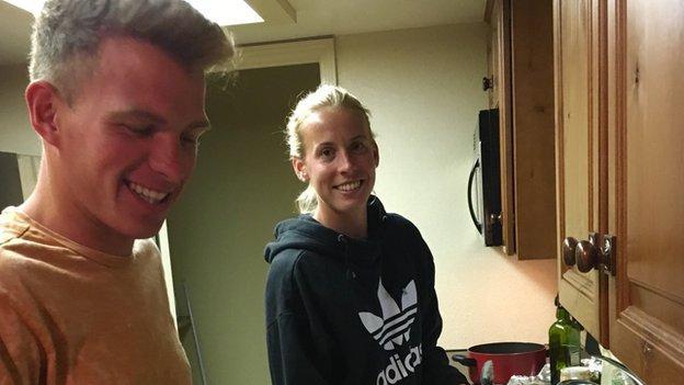 Scottish endurance runners Andrew Butchart and Lynsey Sharp