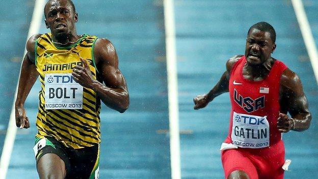 Usain Bolt v Justin Gatlin could produce 'crazy' time - Campbell ...