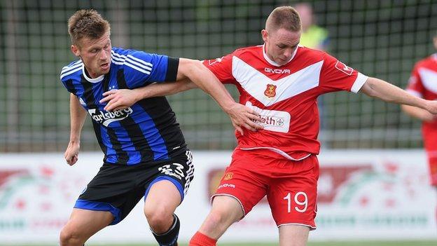 Newtown AFC 1-3 FC Copenhagen (agg 1-5) - BBC Sport