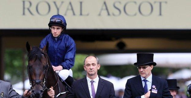 Jockey Moore had a record nine winners at last year's Royal Ascot