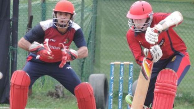Neil MacRae: Jersey coach says T20 warm-ups were 'morale ...