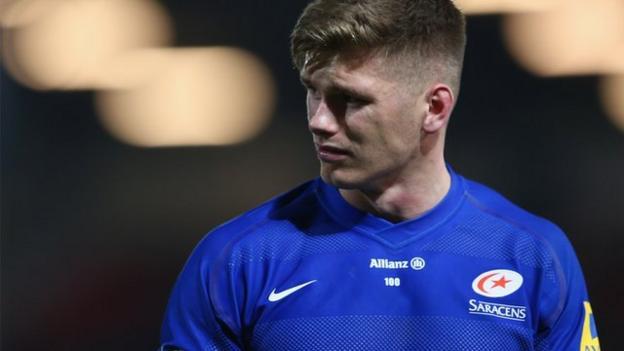 Premiership: Gloucester 15- 17 Saracens - BBC Sport