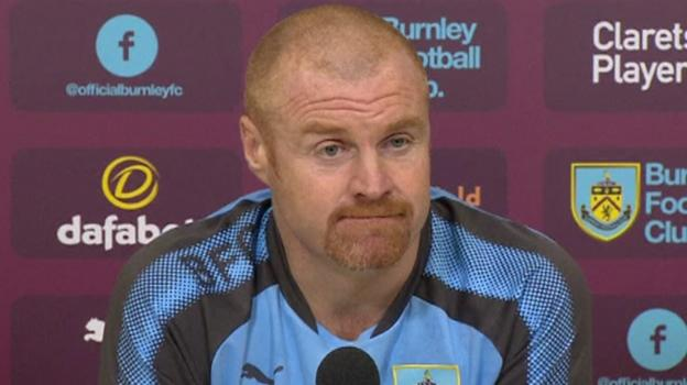 bbc.co.uk - Sean Dyche: Burnley boss 'flattered' by links to Leicester City job