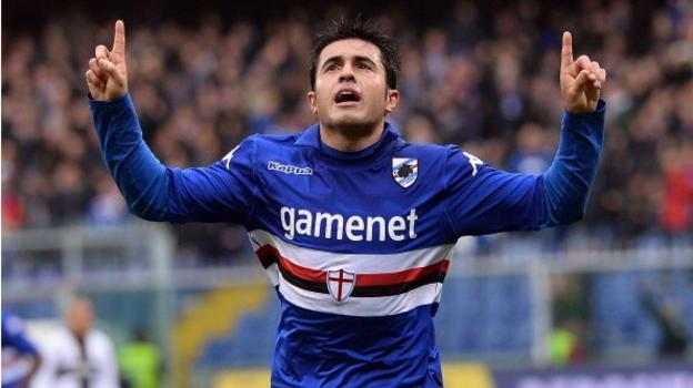 Eder: Inter Milan sign Sampdoria striker on two-year loan - BBC Sport