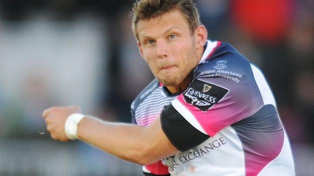 Dan Biggar 'close' to staying at Ospreys, says Steve Tandy - BBC Sport