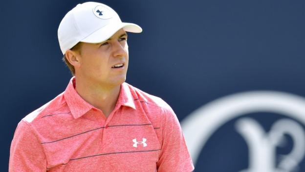 Spieth leads by three at The Open - videos & report