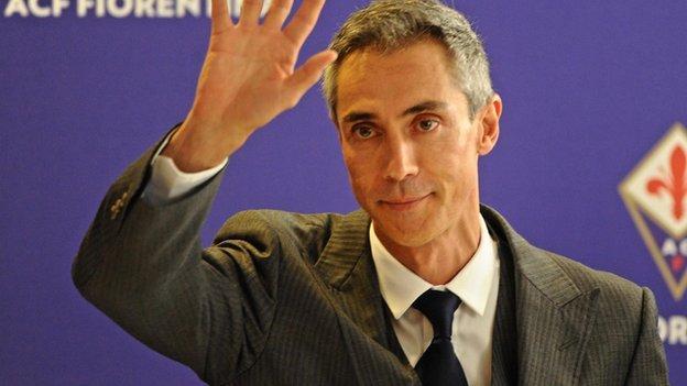 Paulo Sousa: Ex-QPR & Swansea boss unveiled at Fiorentina - BBC ...